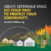 Defensible Space Graphic